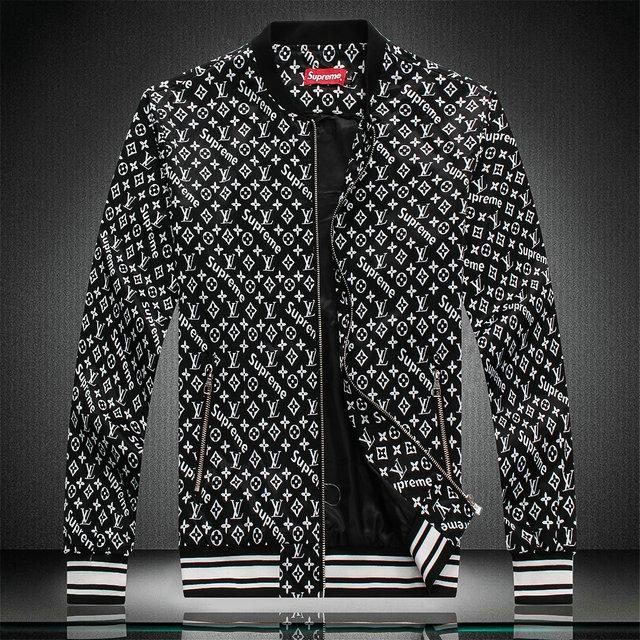 magasin en ligne 2072e 434dc jeansjogging- blouson veste louis vuitton pas cher supreme noir |  JeansJogging