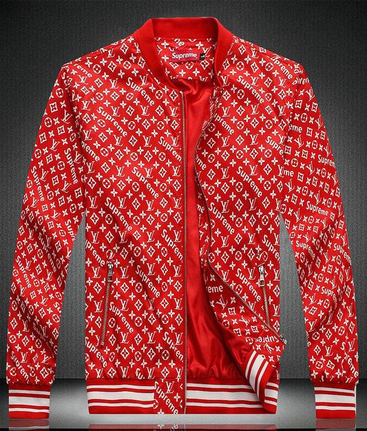 21664a55bf7 blouson veste louis vuitton pas cher supreme rouge - EUR 69 jogging ...