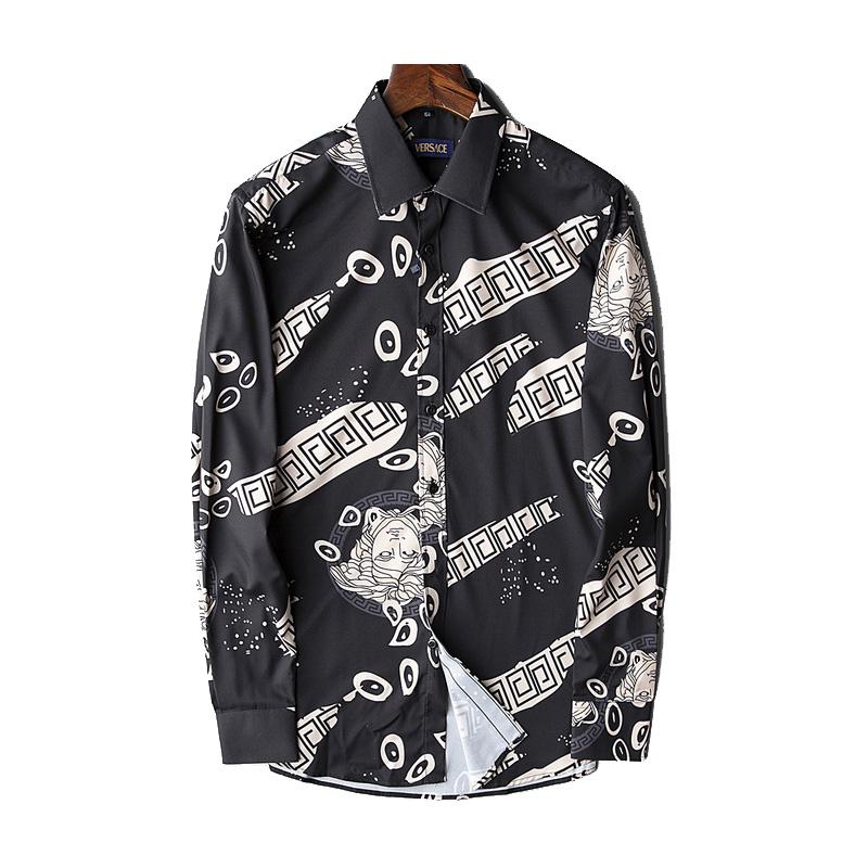 à vendre plus tard beauté jeansjogging- chemise versace homme vintage medusa noir j68a36 |  JeansJogging