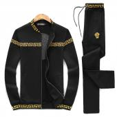2019 new style fashion versace tracksuit sweat suits men vs0062 back medusa noir