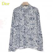 2021 dior shirts outlet pas cher dd003 logo gray