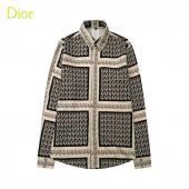 2021 dior shirts outlet pas cher gray grid