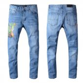 amiri denim jeans skinny-fit distressed stretch dragon