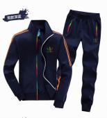 adidas ensemble survetement hommes coton sport jogging