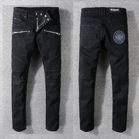 balmain slim-fit biker jeans fashion 1049ba-112