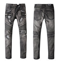 balmain slim-fit biker jeans fashion b1080