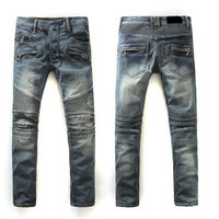 balmain slim-fit biker jeans fashion bm938-160