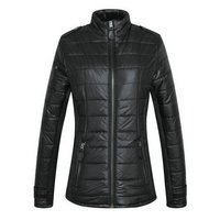 burberry jacket en tissu matelassee shaped waist zipper