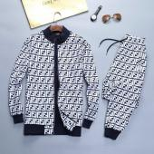 casual wear fendi tracksuit jogging zipper winter clothes fd717081