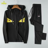 casual wear fendi tracksuit jogging zipper winter clothes hoodie fd718772