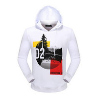 dsquared2 pull sweatshirts hoodies popular automne hiking team 95 white