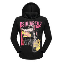dsquared2 pull sweatshirts hoodies popular automne tourism map black