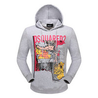 dsquared2 pull sweatshirts hoodies popular automne tourism map gray