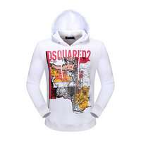 dsquared2 pull sweatshirts hoodies popular automne tourism map white