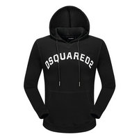 dsquared2 pull sweatshirts hoodies popular automne cotton hoodies  black