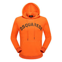 dsquared2 pull sweatshirts hoodies popular automne cotton hoodies  orange