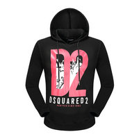 dsquared2 pull sweatshirts hoodies popular automne printing d2 black
