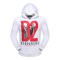 dsquared2 pull sweatshirts hoodies popular automne printing d2 white