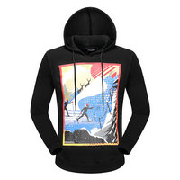 dsquared2 pull sweatshirts hoodies popular automne printing skiing black
