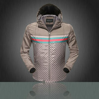 handsome jacket gucci jacket hiver hoodie tape line