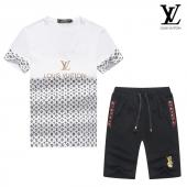 manche courte Tracksuit louis vuitton tracksuit classiv lv flower mix