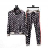 men sportswear louis vuitton tracksuits Tracksuit classic printing