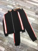 men sportswear louis vuitton tracksuits Tracksuit stand collar black