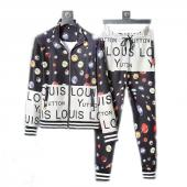 men sportswear louis vuitton tracksuits Tracksuit printing