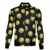 philipp plein sport jacket zippee smiley face
