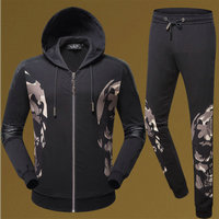 philipp plein Tracksuit hoodie pour man side skull cool