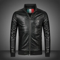 philipp plein jacket pour man et women crocodile striae