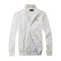 polo ralph lauren long sleeve jacket sweat classic white
