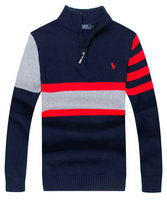 pull ralph lauren brode style camionneur river striped blue