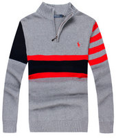 pull ralph lauren brode style camionneur river striped gris