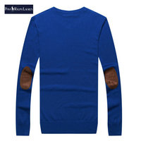 ralph lauren pull coupe cintree long sleeves elbow embroidery
