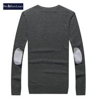 ralph lauren pull coupe cintree long sleeves gray
