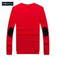 ralph lauren pull coupe cintree long sleeves rouge feu