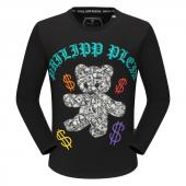 round neck sweaters philipp plein mens designer dollar teddy bear sweater