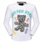 round neck sweaters philipp plein mens designer dollar white bear