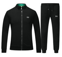 Tracksuit en running hugo boss garcon boy back blue