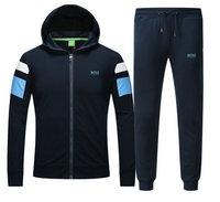 84.00EUR, survetement en running hugo boss garcon boy hoodie scaphandre blue cbce46ebb7c