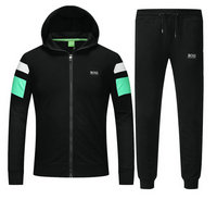 Tracksuit en running hugo boss garcon boy scaphandre side vert