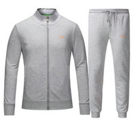 Tracksuit en running hugo boss garcon boy siver back orange