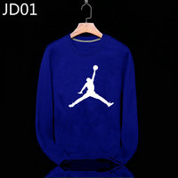 sweat-shirt nike jordan icon jacket bignavy blue jd01