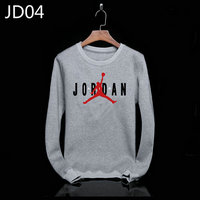 sweat-shirt nike jordan icon jacket jordan big gray jd04