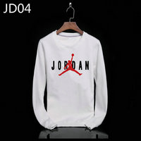 sweat-shirt nike jordan icon jacket jordan big white jd04