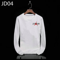 sweat-shirt nike jordan icon jacket jordan black white jd04