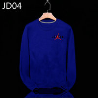 sweat-shirt nike jordan icon jacket jordan navy blue jd04