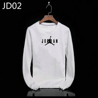 sweat-shirt nike jordan icon jacket jordan small white jd02
