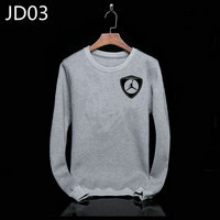 sweat-shirt nike jordan icon jacket small gray jd03